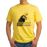 Woodie-Hoodie Yellow T-Shirt