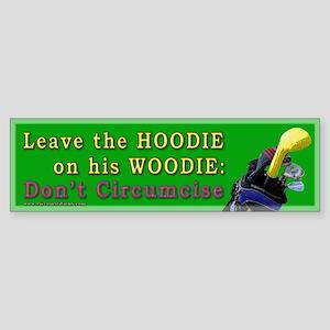 Woodie-Hoodie Bumper Sticker