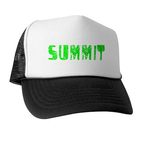 Summit Faded (Green) Trucker Hat