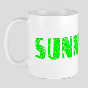 Sunnyvale Faded (Green) Mug