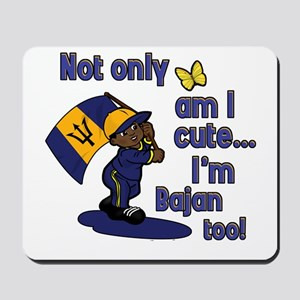 Cute and Bajan! Mousepad