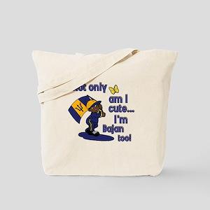 Cute and Bajan! Tote Bag