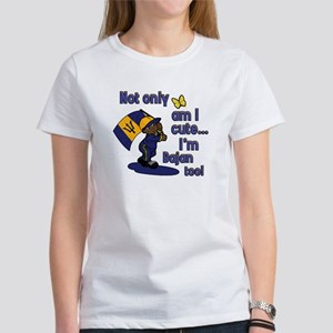 Cute and Bajan! Women's T-Shirt