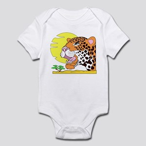 Cheetah (Front only) Infant Bodysuit