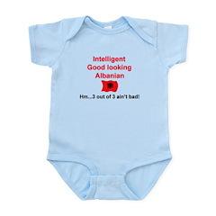 Albanian Three Infant Bodysuit