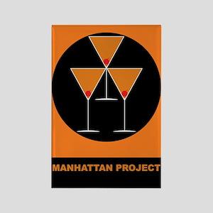 Manhattan Project Rectangle Magnet
