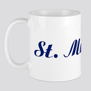 Classic St. Martin (Blue) Mug