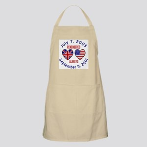 UK & USA Remembered Always BBQ Apron