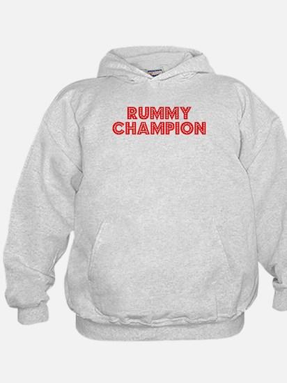 Retro Rummy Champ.. (Red) Hoody