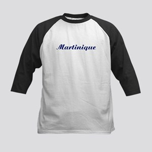 Classic Martinique (Blue) Kids Baseball Jersey