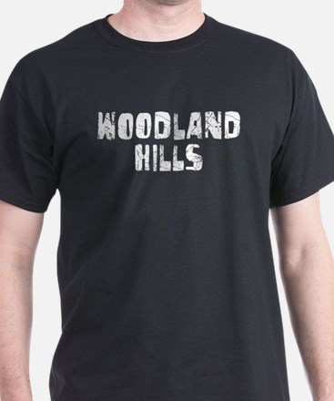 Woodland Hills Faded (Silver) T-Shirt