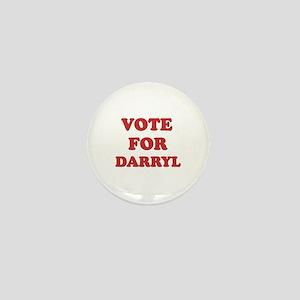 Vote for DARRYL Mini Button