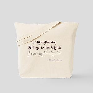 Push The Limits Tote Bag