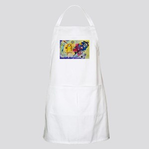 Kandinsky Yellow Red Blue Light Apron