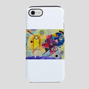 Kandinsky Yellow Red Blue iPhone 8/7 Tough Case