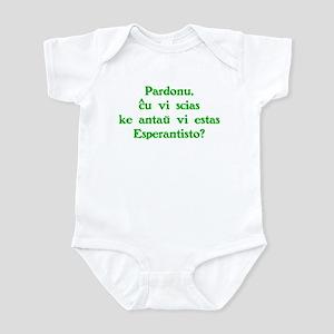 Esperanto before you Infant Bodysuit