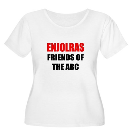 Enjolras Women's Plus Size Scoop Neck T-Shirt