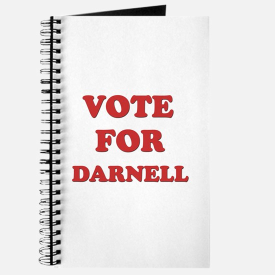 Vote for DARNELL Journal