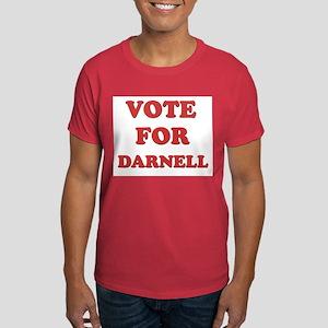 Vote for DARNELL Dark T-Shirt