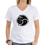 Femdom Women's V-Neck T-Shirt