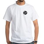 Femdom white T-shirt