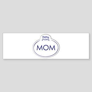 Theme Park Name Tag Orlando Bumper Sticker