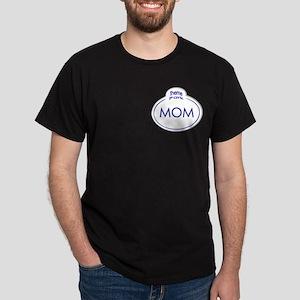 Theme Park Name Tag Orlando Dark T-Shirt