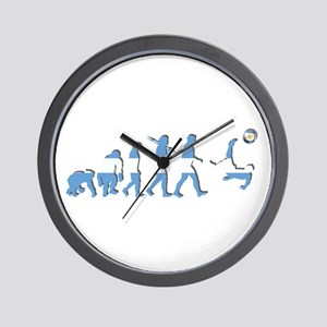Argentinia Soccer Evolution Wall Clock