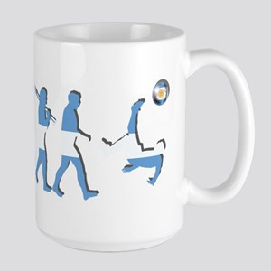 Argentinia Soccer Evoluti 15 oz Ceramic Large Mug