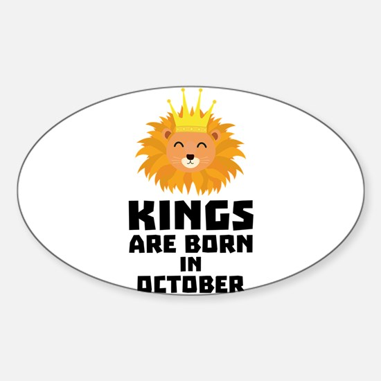 Kings are born in OCTOBER Czx1p Decal