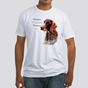 Wirehaired Best Friend1 Fitted T-Shirt