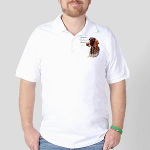 Wirehaired Best Friend1 Golf Shirt