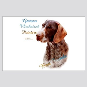 Wirehaired Best Friend1 Large Poster