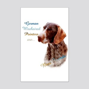 Wirehaired Best Friend1 Mini Poster Print