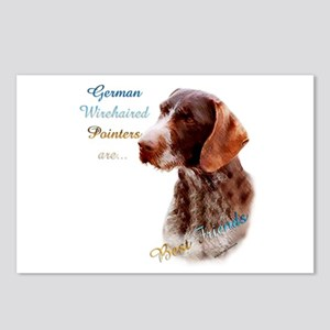 Wirehaired Best Friend1 Postcards (Package of 8)