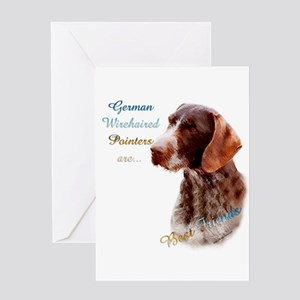 Wirehaired Best Friend1 Greeting Card