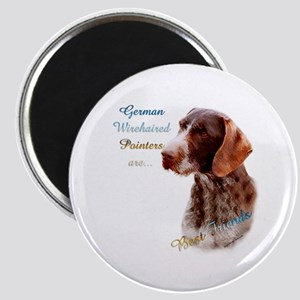 Wirehaired Best Friend1 Magnet