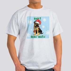 Holiday GSD White T-Shirt
