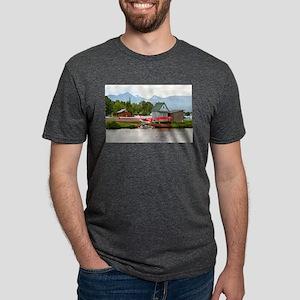Float plane and mountains, Alaska T-Shirt