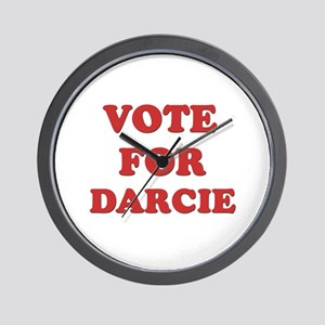 Vote for DARCIE Wall Clock