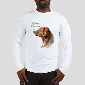 Golden Best Friend1 Long Sleeve T-Shirt