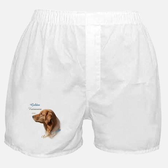Golden Best Friend1 Boxer Shorts