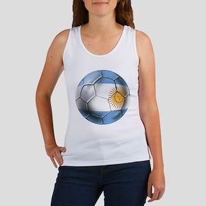 Argentina Football Women's Tank Top