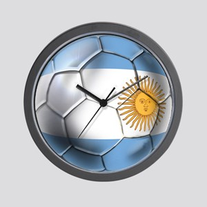 Argentina Football Wall Clock