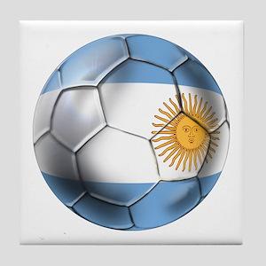 Argentina Football Tile Coaster