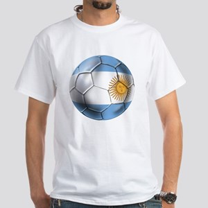 Argentina Football White T-Shirt