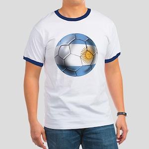Argentina Football Ringer T