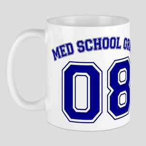 Med School Grad 08 (Blue) Mug
