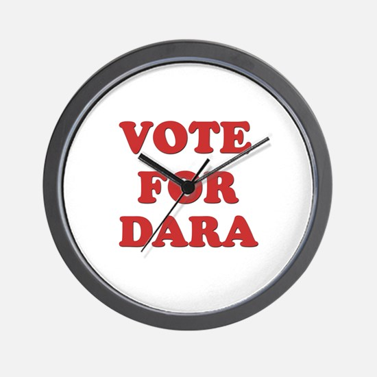 Vote for DARA Wall Clock