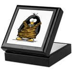 Cavewoman Penguin Keepsake Box